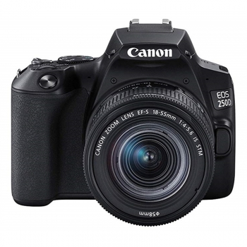 Canon Eos 250d Kit Ef-s 18-55mm F4-5.6 Is Stm Black