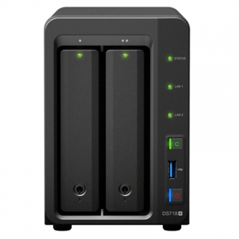 Synology Ds718+ Nas 2bay Disk Station
