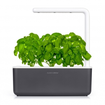 Click & Grow - Smart Garden 3, Gris Oscuro