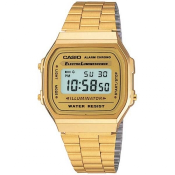 2d5828c843ef Reloj De Pulsera Casio Digital Para Unisex. Modelo A168wg-9ef