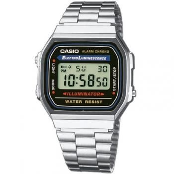 e0f74ee47741 Reloj De Pulsera Casio Digital Para Unisex. Modelo A168wa-1yes