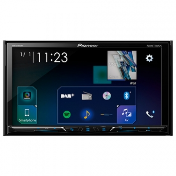 "Radio Monitor Doble Din Pioneer Avh Z5100 Dab, Car Play , Android Auto , 7"" ,"