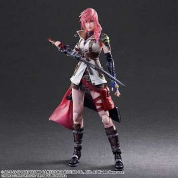 Figura Play Art Final Fantasy Lightning 27 Cm