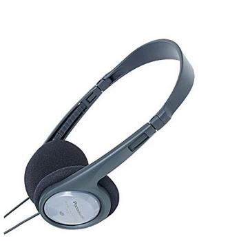 Auriculares Panasonic Corp. Rp-ht090e Negro Gris Diadema