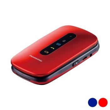 ff0e3429077 Telefono Movil De Facil Uso Panasonic Kx-tu456exc Azul Metalizado