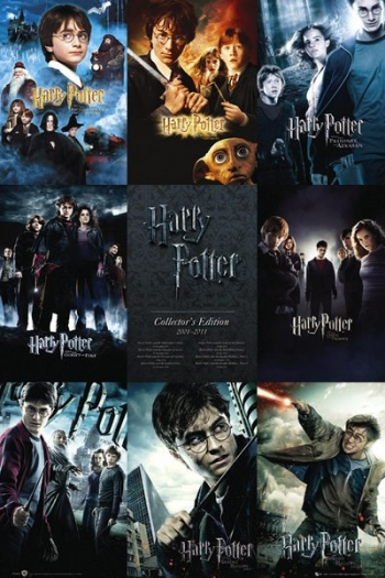 Maxi Poster Coleccion Harry Potter