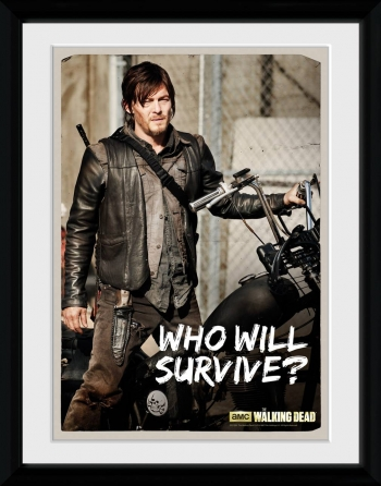 Fotografia Enmarcada The Walking Dead Daryl
