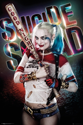 Maxi Poster Suicide Squad Harley Quinn Buenas Noches