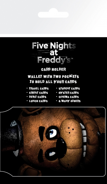 Tarjetero Five Nights At Freddy's Fazbear