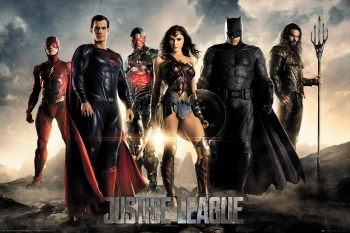 Maxi Poster Justice League Movie Personajes