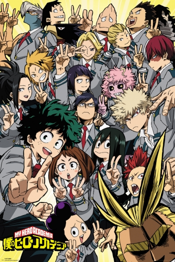 Maxi Poster My Hero Academia School Compilation