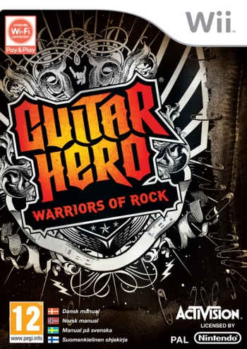 Guitar Hero Warrios Of Rock Sas Wii
