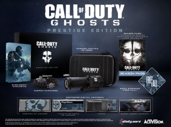 Call Of Duty Ghosts Prestige Edition Xbox One