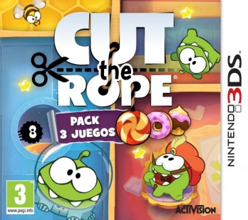 Cut The Rope: Pack 3 Juegos 3ds