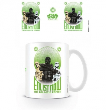 Taza Star Wars Rogue One Enlist Now