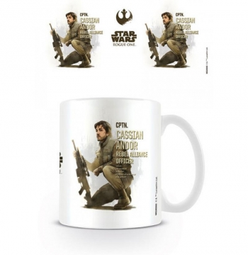 Taza Star Wars Rogue One Cassian