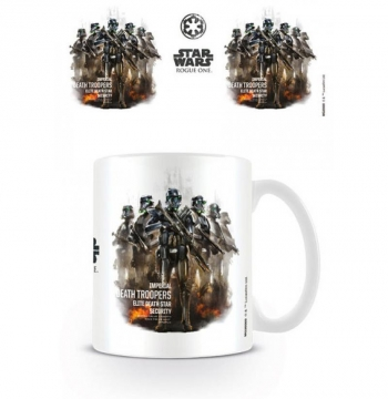 Taza Star Wars Rogue One Death Trooper Profile