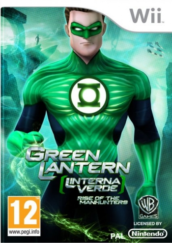 Green Lantern (linterna Verde) Rise Of The Manhunters Wii