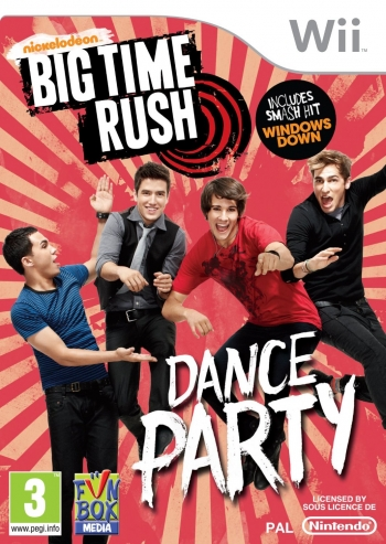 Big Time Rush - Dance Party Wii