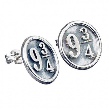 Pendientes *plata* Harry Potter 9 3/4