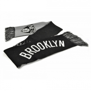 Brooklyn Nets Official Nba - Bufanda Efecto Degradado (talla Única) (negro/gris/blanco)