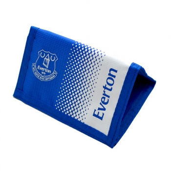Everton Fc Official - Cartera Con Colores En Efecto Degradado (talla Única) (azul/blanco)