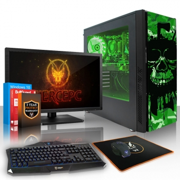 Gamer Pc Amd Ryzen 3 2300x 4x4.0ghz 16gb Gtx 1650 4gb Gaming Computer