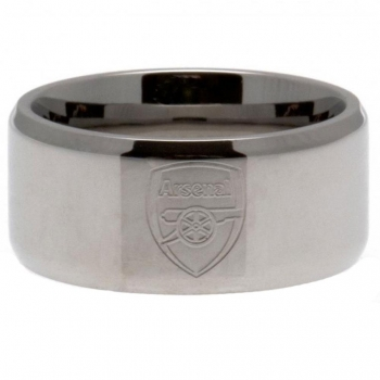 Arsenal Fc - Anillo (mediana (m)) (plata)