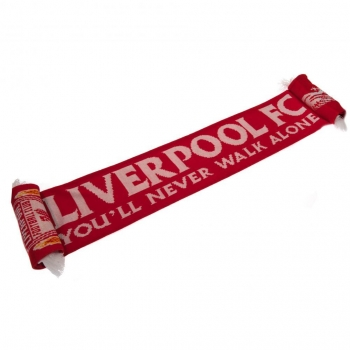 Liverpool Fc - Bufanda You'll Never Walk Alone (talla Única) (rojo)