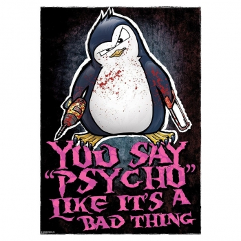 Psycho Penguin - Póster Mini Modelo You Say Psycho (tamaño Único) (multicolor)