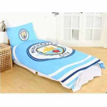Manchester City Fc - Juego De Cama Pulse (single) (multicolor)