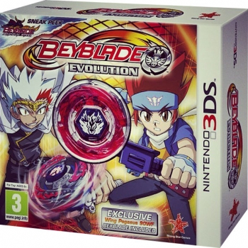 Beyblade Evolution Pack Con Peonza 3ds