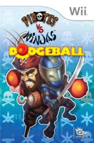 Pirates Vs Ninjas Dodgeball Wii
