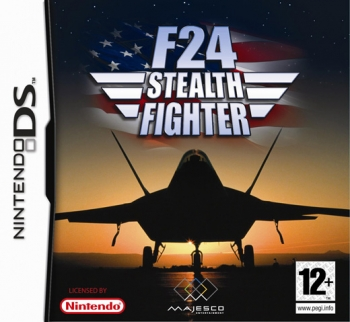 F 24 Stealth Fighter Nds