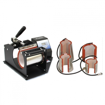 Prensa De Calor Térmica 5 Abrazaderas Sublimación Camisetas Pixmax    Accesorios 2a9b86af54d
