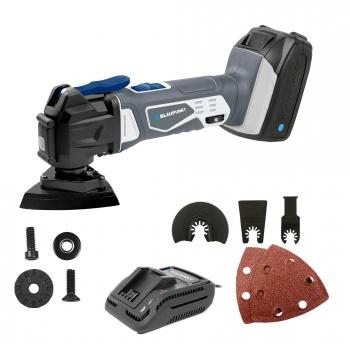 Herramienta Oscilante Blaupunkt -lijar Y Cortar+bateria+cargador