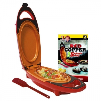 Red Copper Express Sarten Electrica Cobre
