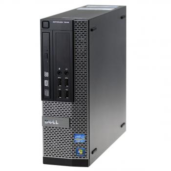 Ordenador Sobremesa Reacondicionado Dell Optiplex 7010 Sff, Intel Core I3-3240, 4gb Ram, 250gb Hdd, Dvdrw, Coa T, Grado B
