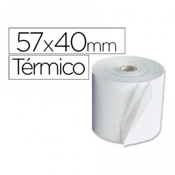 Rollo Termico 57x40x11mm 58 Grs (pack De 10)