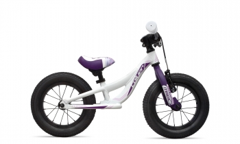 "Bicicleta Sin Pedales Coluer Magic 12"" Blanco/purpura"