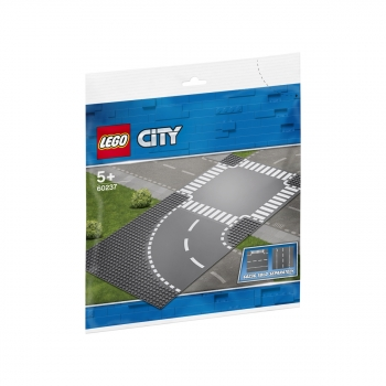 60237 Bend Y Cruce De Caminos, Lego (r) City