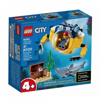 60263 Mini Submarino Lego (r) City