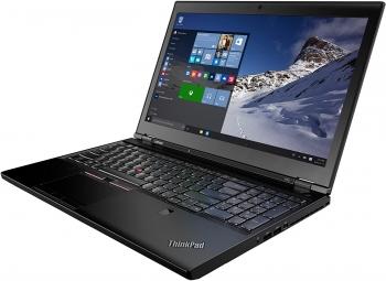 Ordenador Portátil Reacondicionado Lenovo Thinkpad P50, Intel Core I7-6820hq, 16gb Ram, 256gb Ssd+500gb, 15.6/