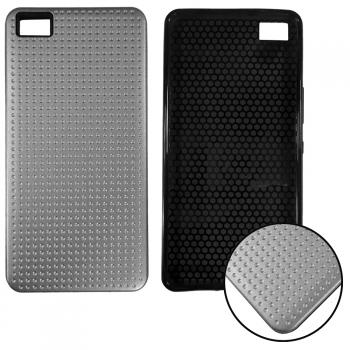 carcasa aluminio rígida para huawei p8 lite 2017 metálico negra