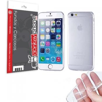 01f90765122 Producto Original Donkeyphone® - Funda Gel Transparente Para Iphone 6 Y 6s  4,7