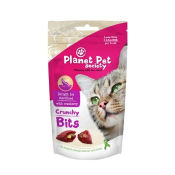 Planet Pet Snacks Para Gato Bits Sterilized - 40gr
