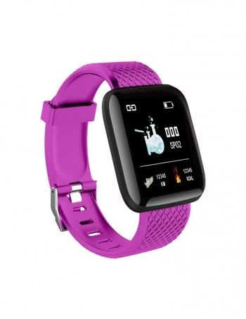 Lkstech® Smartwatch-reloj Deportivo Inteligente, Pantalla Táctil Oled Ip67 Para Android/ios Morado