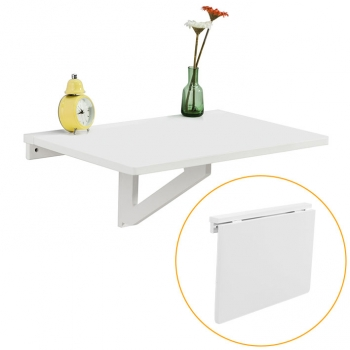Mesa Plegable De Pared 60x40cm Blanco