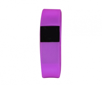 Pulsera De Fitness Smart Band Clk Con Bluetooth Morado