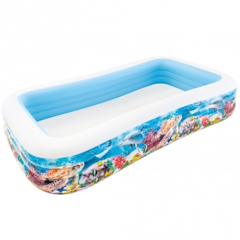 Piscina Hinchable Tropical 305x183x56cm - 1020l